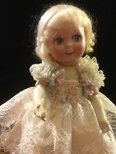 """Darling 8"""" Antique Artist Reproduction Bisque Google Doll"""