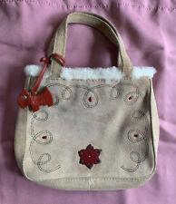 Radley Suede With Sheepskin Trim Small Handbag