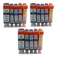 15x Ink Cartridges PGI125 CLI126 Compatible For Canon PIXMA IP4810 IP4910 IX6510