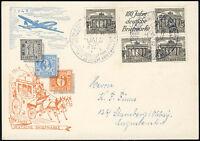 BERLIN 1949, Zusammendruck W 1, auf FDC, Mi. 60,-