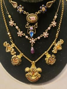 (1) Ayala Bar Necklace & (2) Unbranded Necklaces Vintage