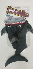 Citypets Halloween Dog or Cat Costume Gray Shark Small New