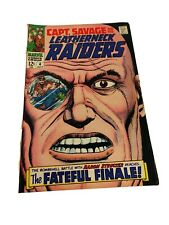 CAPT. CAPTAIN SAVAGE AND HIS LEATHERNECK RAIDERS #4 Ungraded SILVER AGE MARVEL