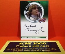 Blakes 7 Unstoppable Cards - Series 2 - Michael Troughton Autograph Card S2MT