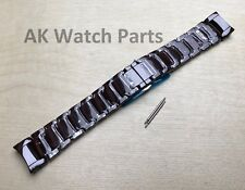 Spare Brown Ceramic Strap to fit Emporio Armani AR1454 Watch Band/Bracelet/Link