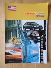 CITROEN Saxo East Coast 1998 UK Market sales brochure