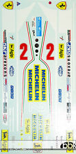 1/12 FERRARI 312T5 VILLENEUVE REPLACEMENT DECAL for PROTAR