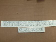 FORD INTERNATIONAL HARVESTER POWERSTROKE  DECAL