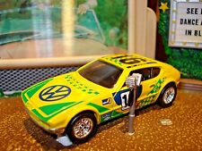 VW VOLKSWAGEN SP 2 1/64 SCALE LIMITED EDITION RACE CAR HW DETAILED LIGHTS