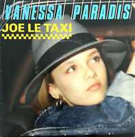 """Vanessa Paradis 7"""" Joe Le Taxi - Label plastique - France (VG+/EX)"""