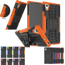 Hybrid Shockproof Heavy Duty Kickstand Case Cover For SONY Xperia  XZ XA1 Ultra