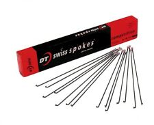 DT Swiss Competition Black Spokes 2.0/1.8 x 256mm 12 Count J Bend