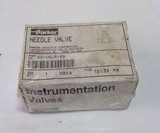 PARKER NEEDLE VALVE  6Z-V6LR-SS 103318 *JCH*