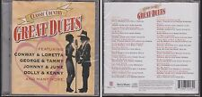 Classic Country GREAT DUETS Various Artists TIME LIFE 2CD Marie Osmond Dan Seals
