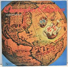 "TALE SPINNERS FOR CHILDREN   ""Christopher Columbus""   Vinyl LP  UAC11040"
