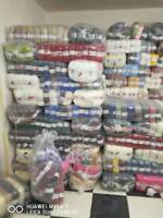 new cake yarn & other hand knitting wool / yarn 10kg /100balls mixed JOB lot#17
