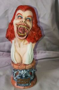 Rare Resin Geometric Designs Models FrightNight Amy Bust built/Painted