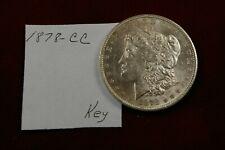 1878 CC - KEY DATE -MORGAN SILVER DOLLAR