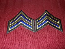 California Highway Patrol Corporal Chevron Patches (2)