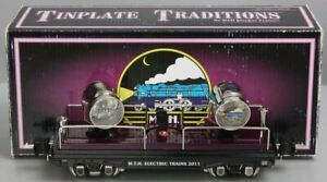 MTH 10-8082 O Gauge Tinplate 2011 MTHRRC Searchlight Car LN/Box