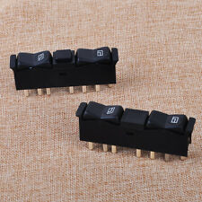 2pcs Left Right Door Window Control Switch Fit For Mercedes-Benz W123 W201 W126