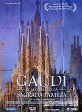LA SAGRADA FAMILIA - GAUDI / RELIGION / TEMPLE - LARGE FRENCH MOVIE POSTER