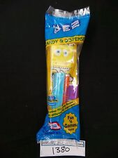 Retired Embarrassed SpongeBob in Undies Pez MIB! Bag