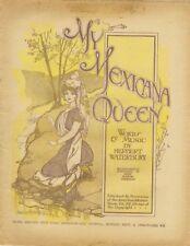 My Mexicana Queen, newspaper supplement,  1906