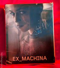 Ex Machina Steelbook Lenticuar Edition (Blu-ray Disc, 2015) Region Free