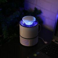 Lampara mata insectos Anti Mosquitos Electrico Zapper para el hogar LED USB