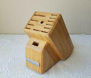 KitchenAid 13-Slot Bamboo Knife Block