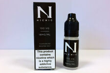 NicNic 10ml Nicotine Shot (Nic Shot) 18mg 100% VG - Black Box
