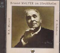 Mozart: Sinfonie N.39 & 40 , Schubert: la Grande / Bruno Walter A Estocolmo - CD