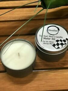 Mendles - The Real Men's Candle - Motor Oil