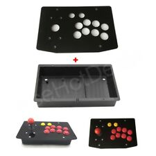 DIY Arcade Joystick Kits Part 10 Buttons Arcade Joystick Acrylic Panel and Case