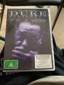 Duke Ellington - Love You Madly At Grace Cathedral DVD Region 4 Rare