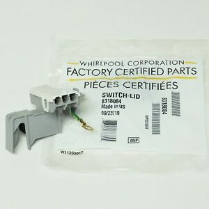 WP8318084 OEM Whirlpool Kenmore Roper Washer Lid Switch AP3180933 PS886960
