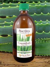 Puro Succo Concentrato 5x Di Aloe Vera, Prodotto Artigianale Di Qualità, 250ml