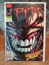 Pitt #1 Newsstand Variant 1993 Image Comics Rare!
