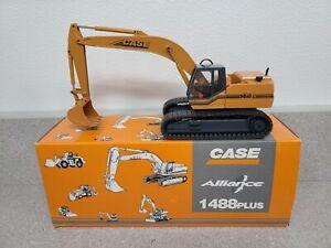 Case 1488 Plus Alliance Excavator - Conrad 1:50 Scale Diecast Model #2846/0