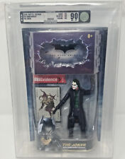 2008 MATTEL THE DARK KNIGHT THE JOKER ACTION FIGURE SERIES 1 GRADE AFA 90 NM+/MT