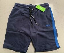 Hugo Boss French Terry Cotton Shorts X 2 for Men Black and Grey Size - XL