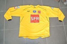 Maillot Coupe de France SFR jaune  porté n° 12 duarig Football - XL