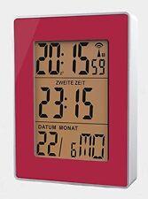 Sveglie e radiosveglie rosso digitale con data/calendario