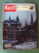 Paris Match - n° 449 - 19 nov 1957 - MOSCOU 40e révolution, NIger, Sophia Loren