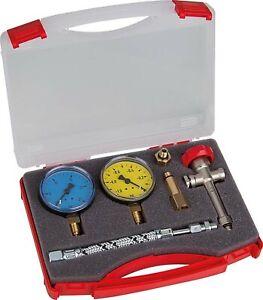 Pump Test Kit Kompl.bestückt For Oil-Fired/Oil Burner Pump IN Plastic Case