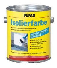 Pufas Isolierfarbe 2l Schutz vor Feuchtigkeit u. Ausblühungen