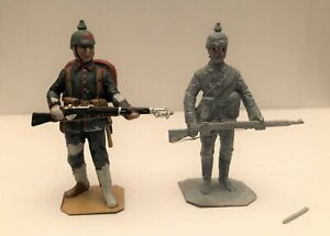 TWO (2) STADDEN --  WWI GERMAN INFANTRYMEN, 1914