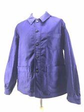 Ancienne Veste de bleu de travail moleskine,usine paysan déguisement  état neuf