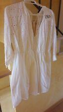 Exquisito Chic Vestido blanco   ZARA ORIGINAL L XL Etiquetas